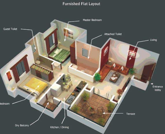 Bhujbal Valay, Pune - Floor Plan