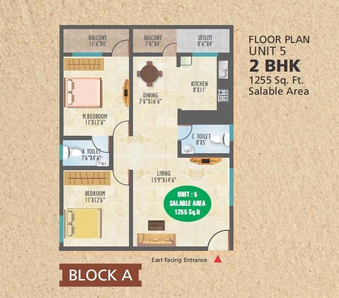 Silicon Citi, Bangalore - Floor Plan