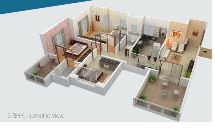 Sukhwani Celaeno, Pune - Floor Plan