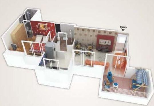 PSG Majestic Residency, Pune - Floor Plan