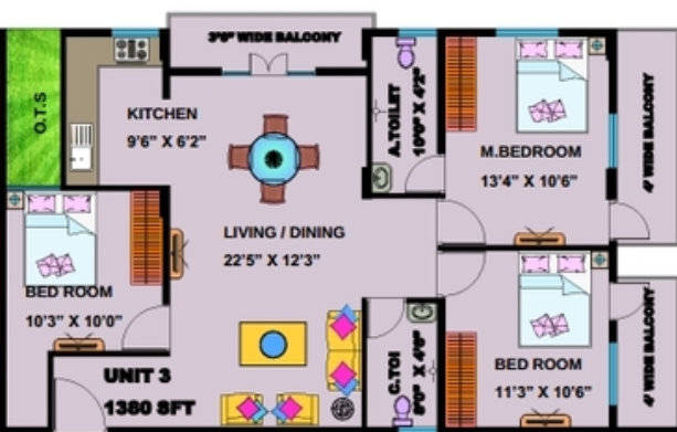 JPC Prime, Bangalore - Floor Plan
