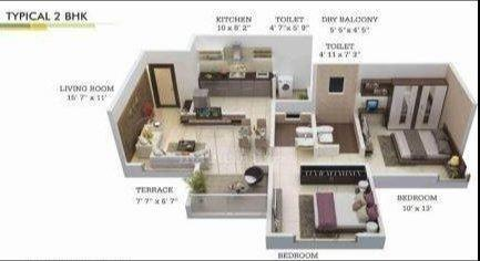 Shree Rigel Enclave, Pune - Floor Plan