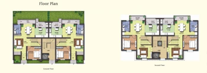 LGCL One Street, Bangalore - Floor Plan