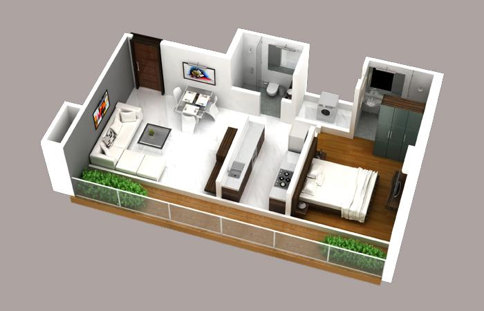 Conwood Astoria, Mumbai - Floor Plan