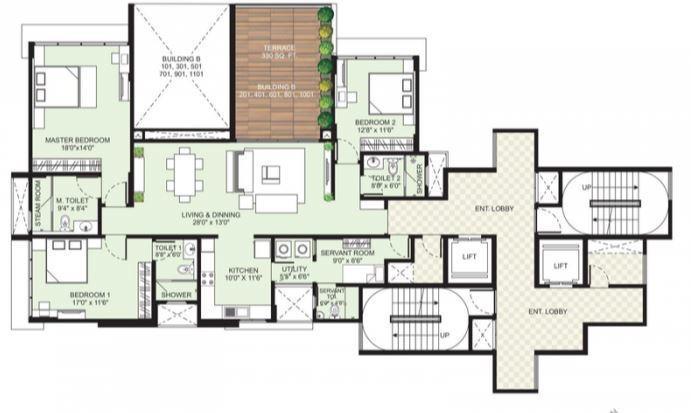 Marvel Arco, Pune - Floor Plan