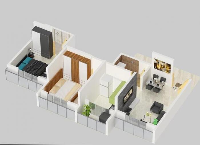 Beauty Landmark, Mumbai - Floor Plan