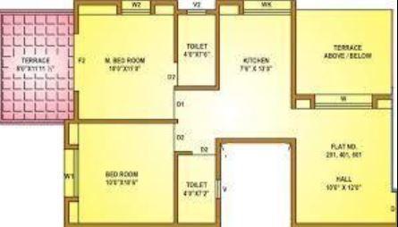 Aarav Florista, Pune - Floor Plan