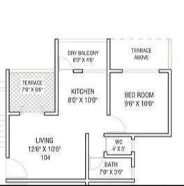 Dreams Rakshak, Pune - Floor Plan