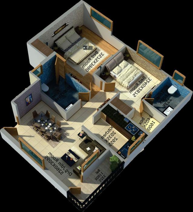 RCB Shiva Greens, Lucknow - Floor Plan