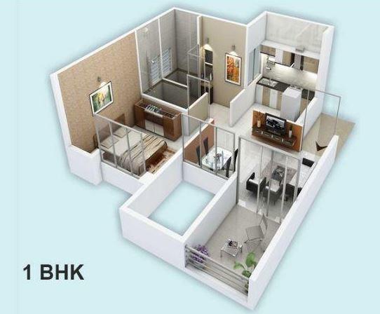 Darode Jog  Sinhagad County, Pune - Floor Plan