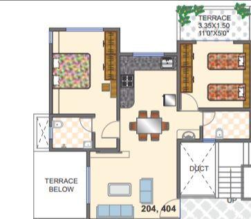 Sumangal Shiv Sparsh City, Pune - Floor Plan
