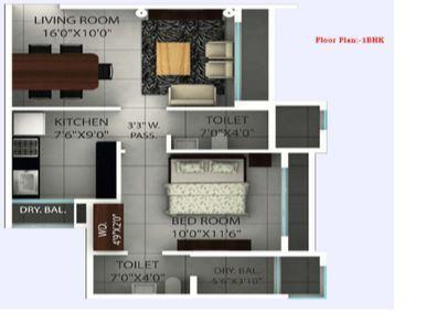 Ajmera Yogi Dham Phase III, Mumbai - Floor Plan