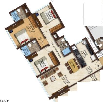 Acme Boulevard, Mumbai - Floor Plan