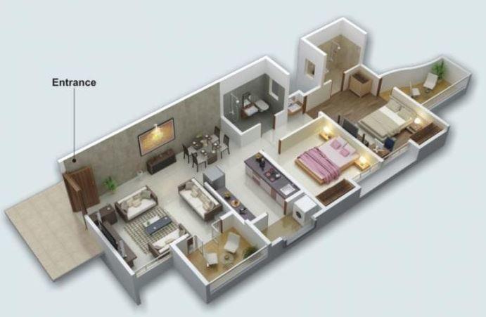 Enerrgia Celia, Pune - Floor Plan