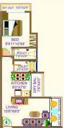 Ostwal Oasis, Mumbai - Floor Plan