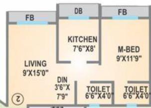 Agarwal Lifestyle, Mumbai - Floor Plan