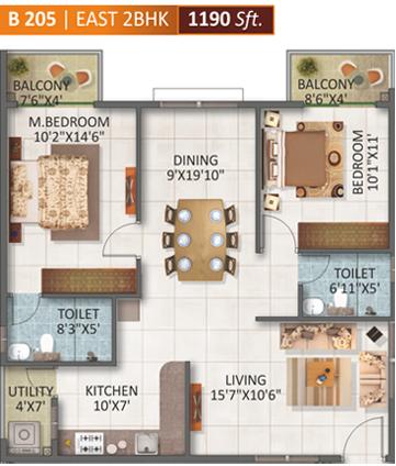 SV Legacy, Bangalore - Floor Plan