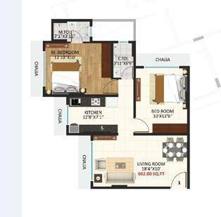 Triveni Eden, Mumbai - Floor Plan