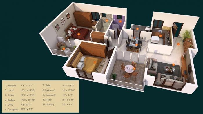 Expart The Wisdom Tree, Bangalore - Floor Plan