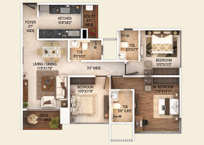 Transcon Fortune 500, Mumbai - Floor Plan