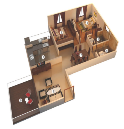 Atlantis Liberty Square, Bangalore - Floor Plan