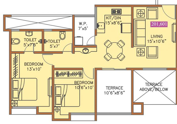 Anand The Inspira, Pune - Floor Plan