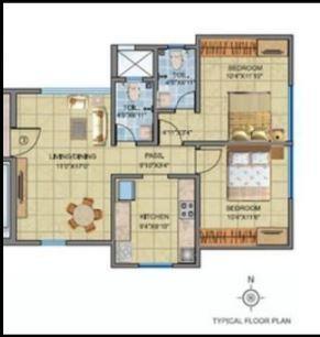 DV Fressia Heights, Mumbai - Floor Plan