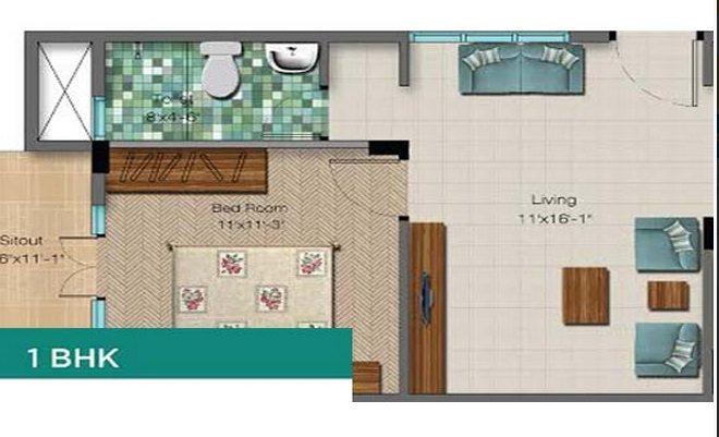 Atmos Oasis, Bangalore - Floor Plan