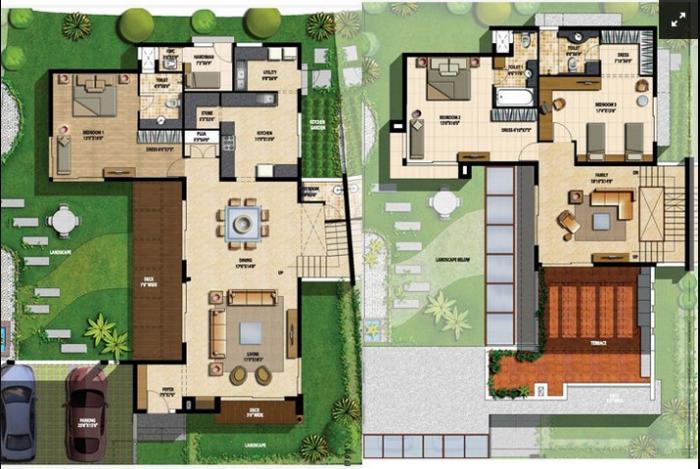 Sterling Villa Grande, Bangalore - Floor Plan
