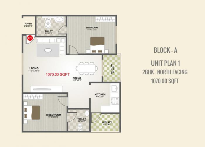 ASN Elite, Bangalore - Floor Plan