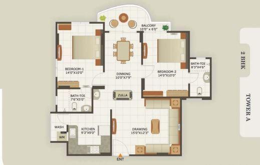 Classic Heights, Ahmedabad - Floor Plan