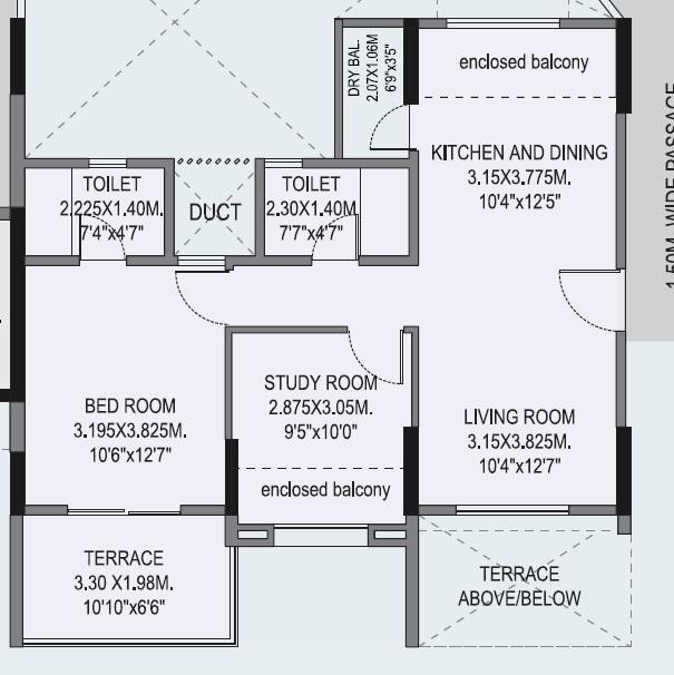 B U Bhandari Vaastu Viva, Pune - Floor Plan