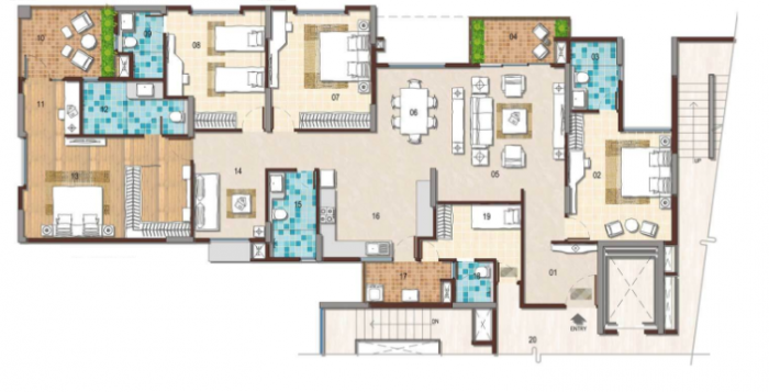 G Corp The Icon, Bangalore - Floor Plan