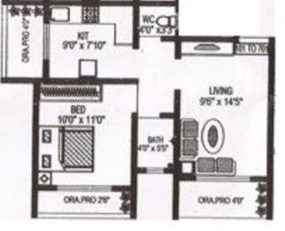 Om Sai Towers, Mumbai - Floor Plan
