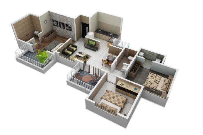 Sais Leela, Pune - Floor Plan