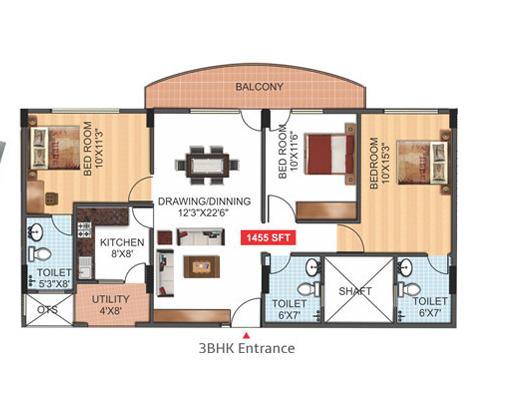Roma Epicurean, Bangalore - Floor Plan