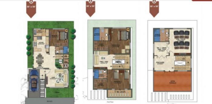 RBD Stillwaters, Bangalore - Floor Plan