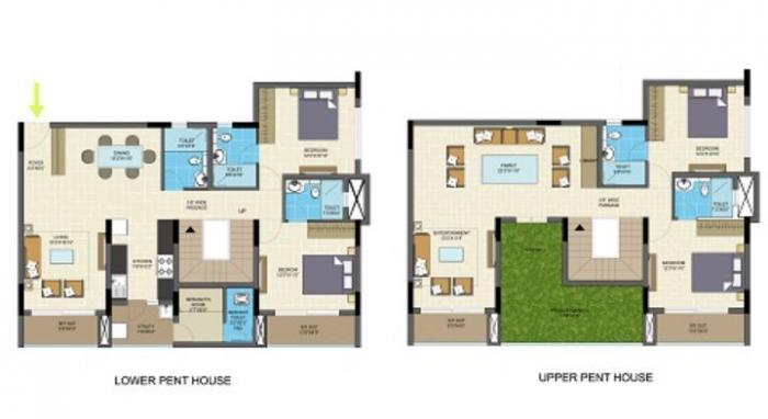Nitesh Columbus Square, Bangalore - Floor Plan