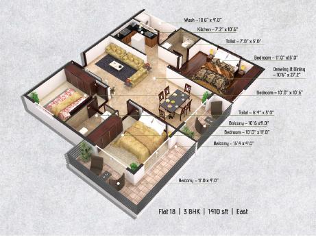 LVS Gardenia Phase 2, Bangalore - Floor Plan