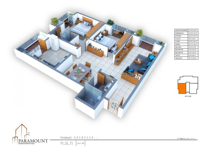 Paramount Grandeur In Mysore Amenities Layout Price