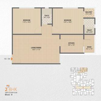 Shree Vivan 101, Gandhinagar - Floor Plan