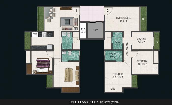 Anantnath Agasan, Thane - Floor Plan