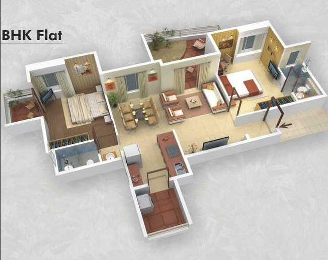 Rishikesh Seraph Supremus, Pune - Floor Plan