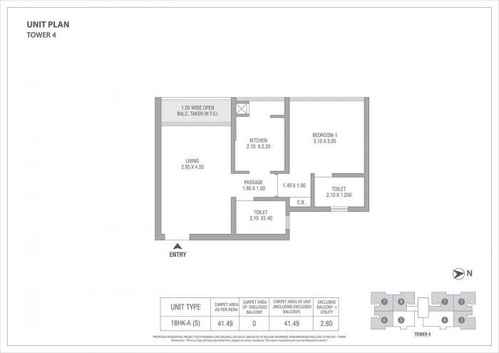 Tata Housing Serein, Thane - Floor Plan