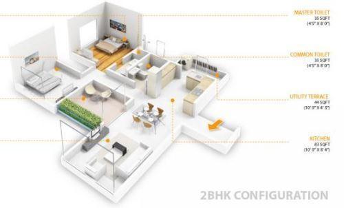 Skyi Iris, Pune - Floor Plan