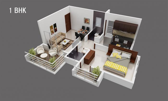 SCGK Royal Nest, Mumbai - Floor Plan