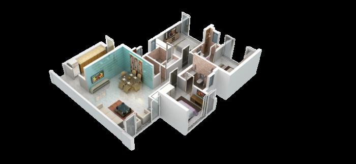 DSS Mahavir Universe Phoenix Phase II, Mumbai - Floor Plan
