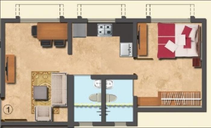 Trident Ozone Platinum Heights, Mumbai - Floor Plan