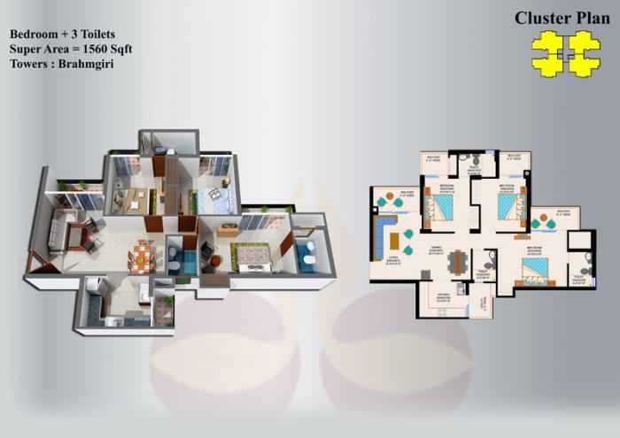 Eros Sampoornam Phase I & II Noida Extension