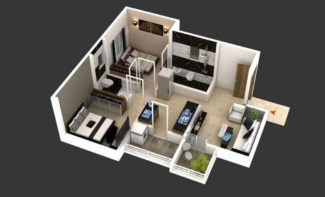 Prajol Icon, Pune - Floor Plan
